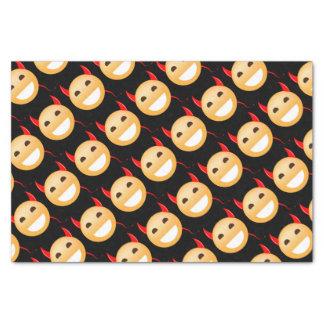 Little Emoji Devil Tissue Paper