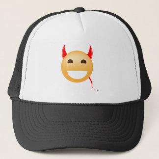 Little Emoji Devil Trucker Hat