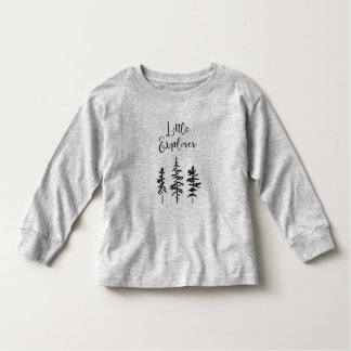 Little Explorer, Woodland Trees Toddler Shirt