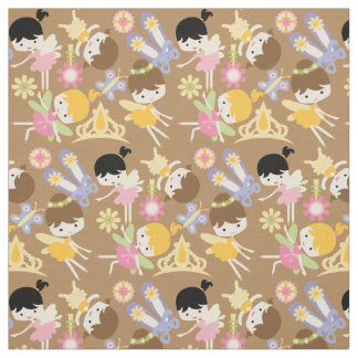 Little Fairy Ballerinas Fabric