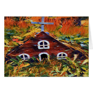 Little Fairy House 3695 Card