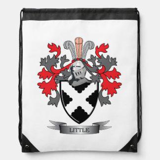 Little Family Crest Coat of Arms Drawstring Bag
