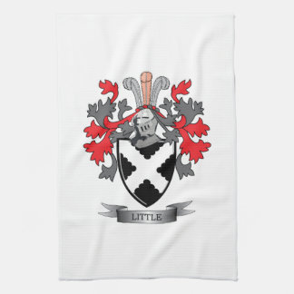 Little Family Crest Coat of Arms Kitchen Towel