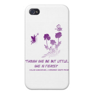 Little Fierce Fairy Cover For iPhone 4