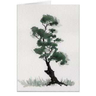Little Fir Tree Card