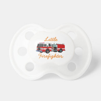 Little Firefighter Baby Pacifier