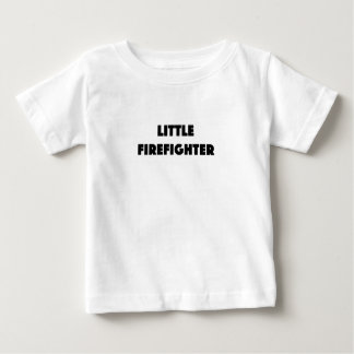 Little Firefighter Baby T-Shirt