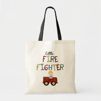 Little Firefighter Tote Bag