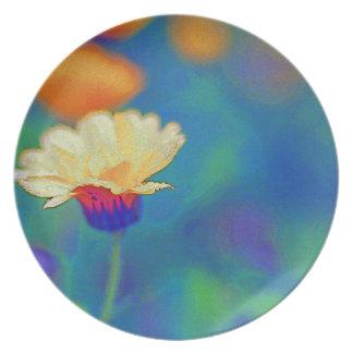 Little Flower In field Plate