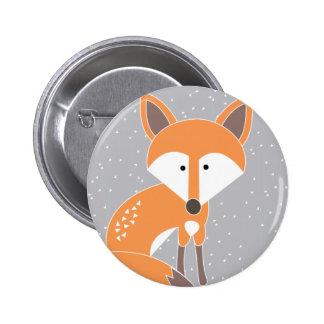 Little Fox 2 Inch Round Button