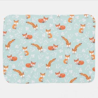 Little Fox Baby Blanket