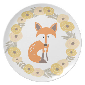 Little Fox Party Plate