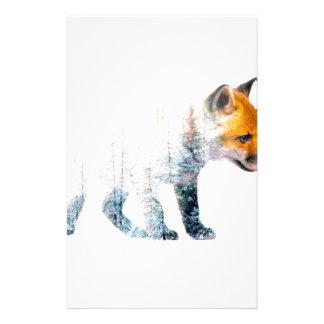 Little fox stationery