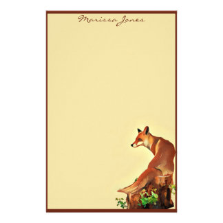 Little Fox Stationery Paper