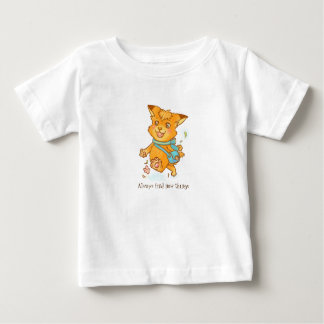 Little fox want to go outside baby T-Shirt