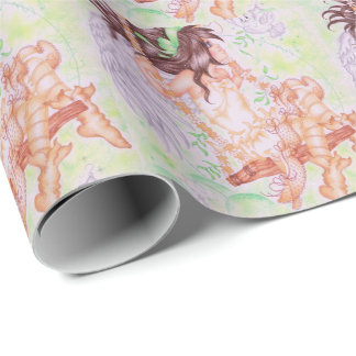 LITTLE FRIENDS WRAPPING PAPER