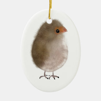 Little Funny bird Christmas Tree Ornaments