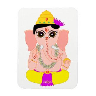 Little Ganesha Rectangular Photo Magnet