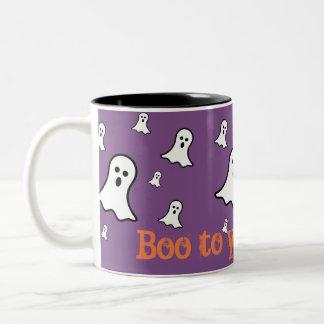 Little Ghosts Halloween Mug