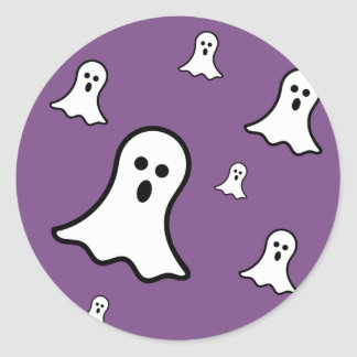 Little Ghosts Halloween Sticker