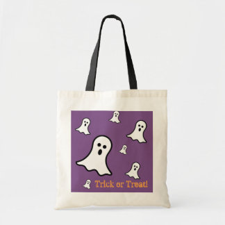 Little Ghosts Halloween Tote Bag