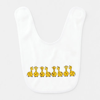 Little Giraffes Bib