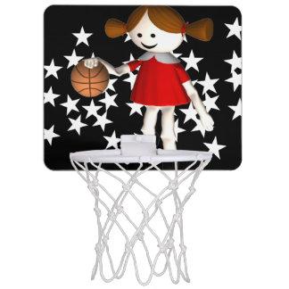 Little Girl Basketball Star Mini Basketball Hoop