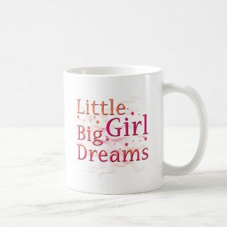 Little Girl Big Dreams Basic White Mug