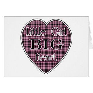 Little Girl Big Heart Card