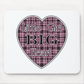Little Girl Big Heart Mouse Pad