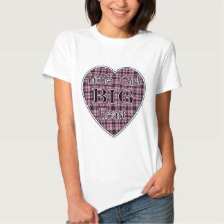 Little Girl Big Heart Shirts