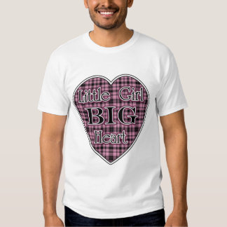 Little Girl Big Heart T Shirts