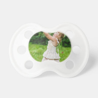 Little Girl Catching a Butterly Baby Pacifiers