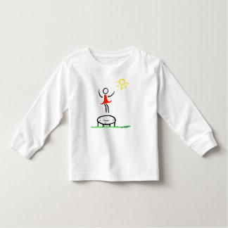 Little girl have fun toddler t-shirt
