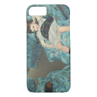 Little Girl in a Blue Armchair, 1878 (oi iPhone 7 Case