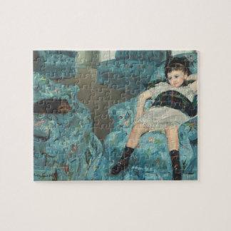 Little Girl in a Blue Armchair, 1878 (oi Jigsaw Puzzle