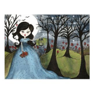 Little Girl Lost - Postcard