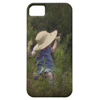Little Girl on a Swing iPhone 5 Case