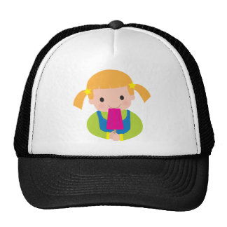 Little Girl Popsicle Trucker Hat