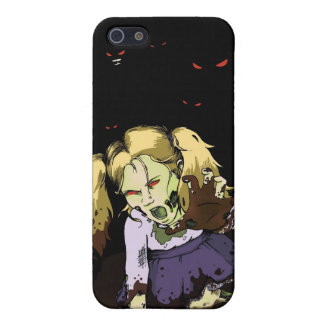 Little Girl Zombie iPhone 5/5S Covers