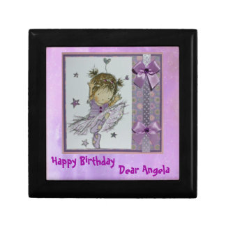 Little Girl's Birthday gift box -Customize