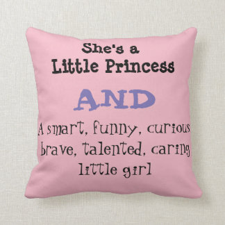 Little Girl's Cushion