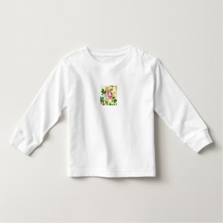 Little Girls Floral by Pat Toddler T-shirt