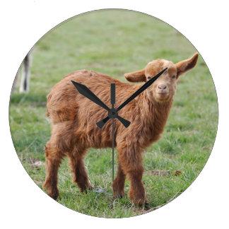 Little Goat ~ kids ~ small goat - by GLINEUR Wallclocks
