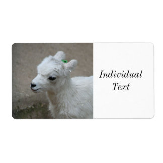 little Goat Shipping Label
