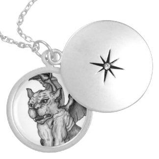Little GOLEM - Gargoyle Locket Necklace