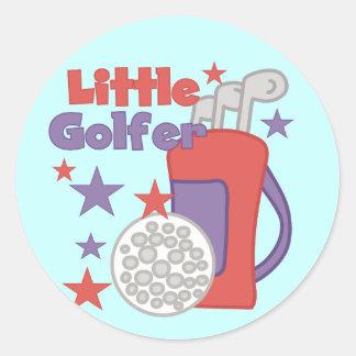 Little Golfer Stickers