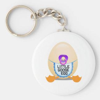 Little Goose Egg Games Basic Round Button Keychain