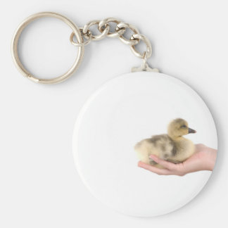 little goose in one hand key chain