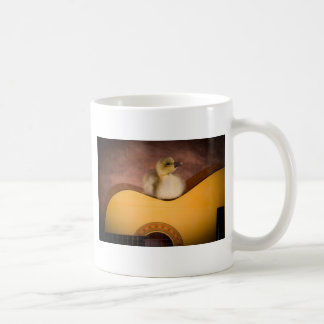 little goose one has guitar coffee mug